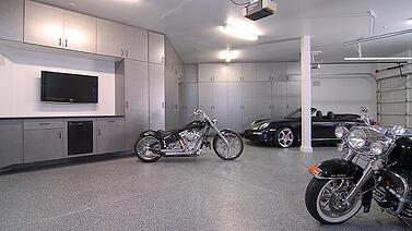 Creative uses of garage storage