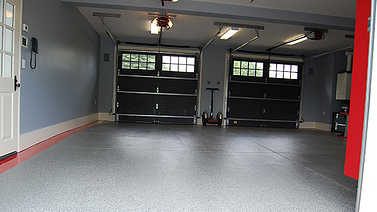 epoxy concrete flooring v. garage floor tiles