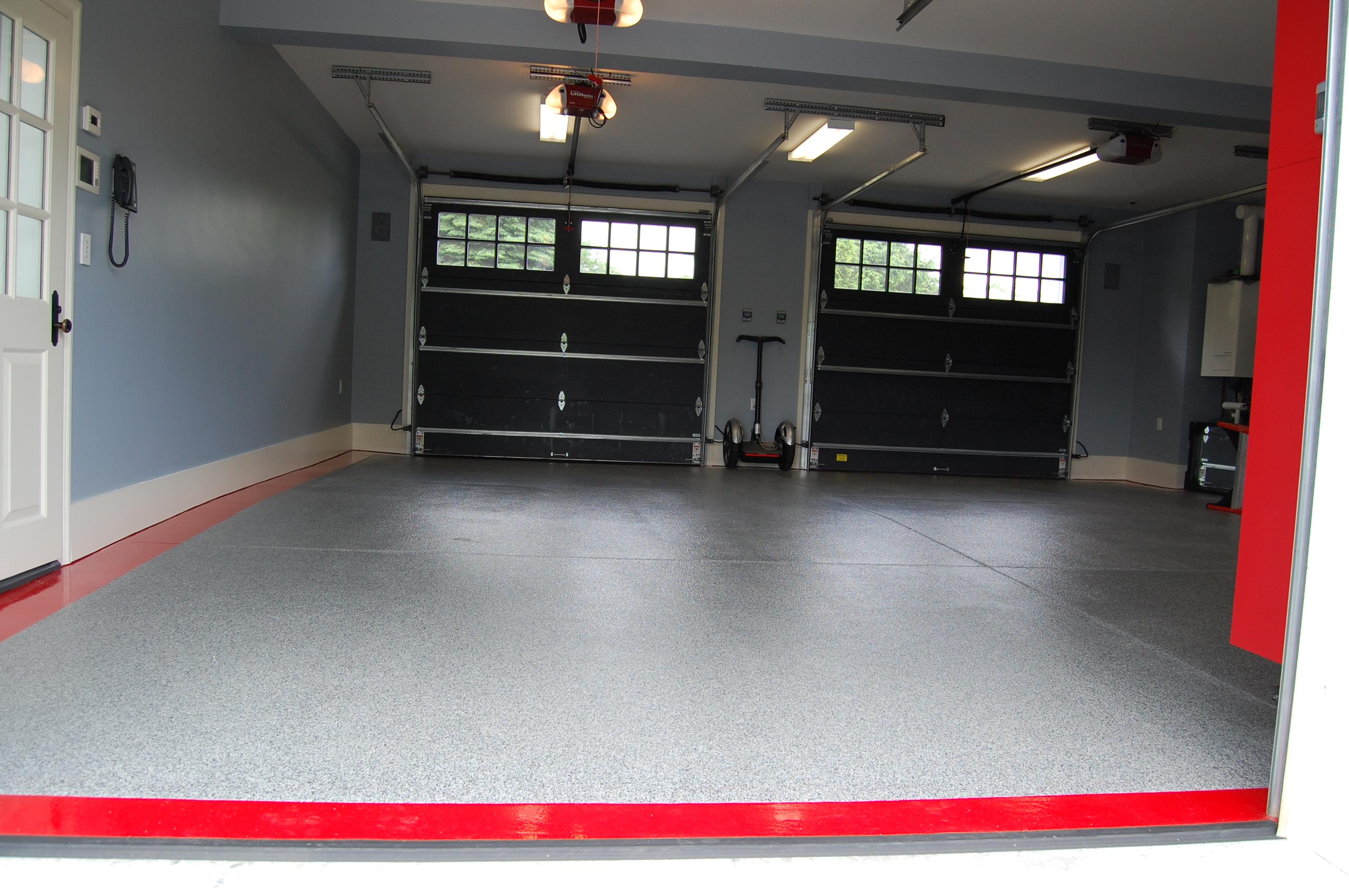 Luxury Garage Floor Boston Garage