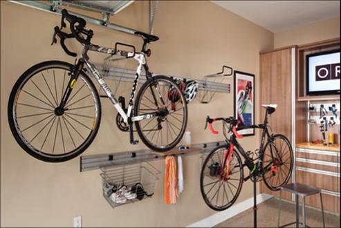 how to organize a small garage garage storage