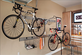 how to organize a small garage garage storage