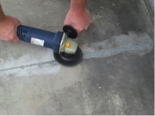 Garage floor diamond blade