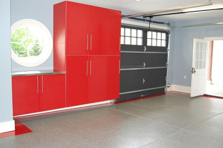garage floor design