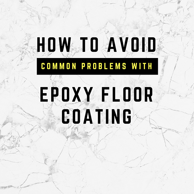 The Most Common Problems With Epoxy Floor Coating And How